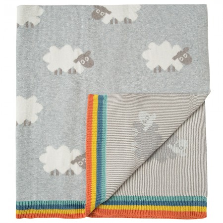 My First Frugi Little Lambs Blanket