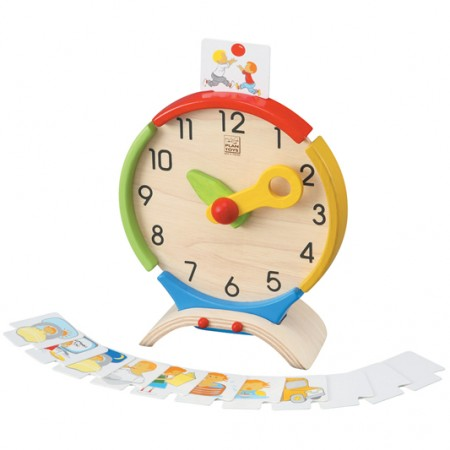 Plan Toys Activity Clock