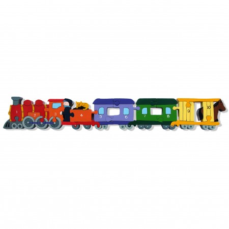 Alphabet Jigsaws Wooden Train