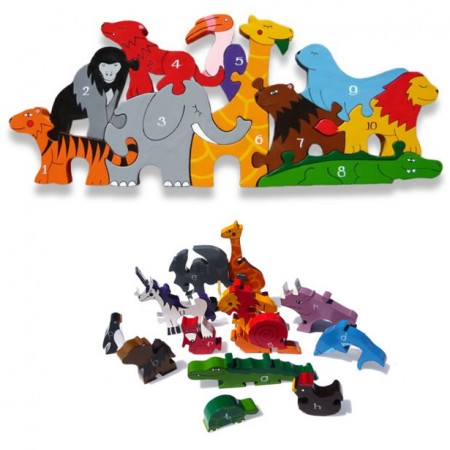 AlphabetJigsaws Number Zoo