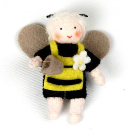 Ambrosius Bee Baby White Skin With Apron 6.5cm