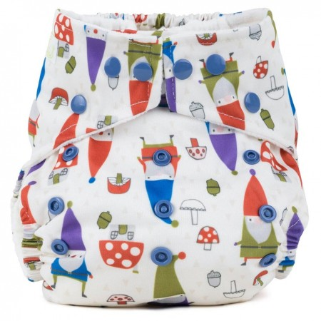 Baba + Boo One-Size Nappy - Gnomes