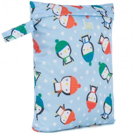 Baba + Boo Small Nappy Bag - Penguins