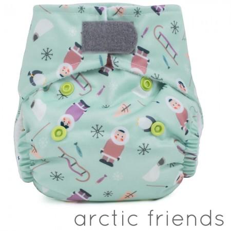 Baba + Boo Newborn Nappy-Arctic Friends