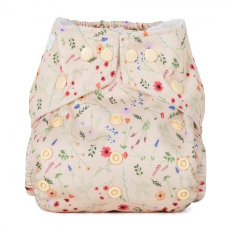 Baba + Boo One-Size Nappy - Wildflowers