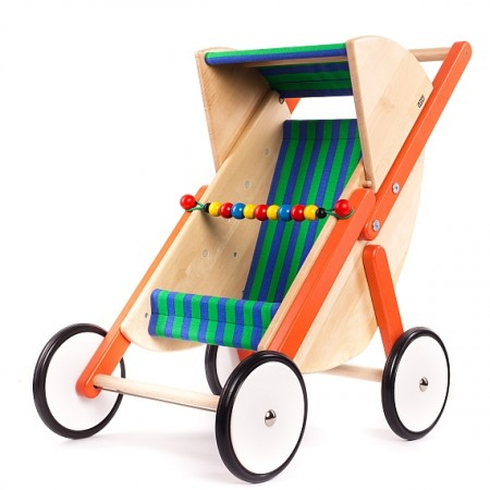 Bajo Orange Doll's Buggy