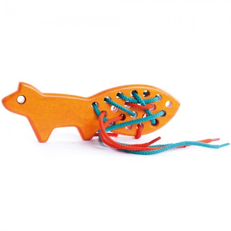 Bajo Orange Lacing Fox