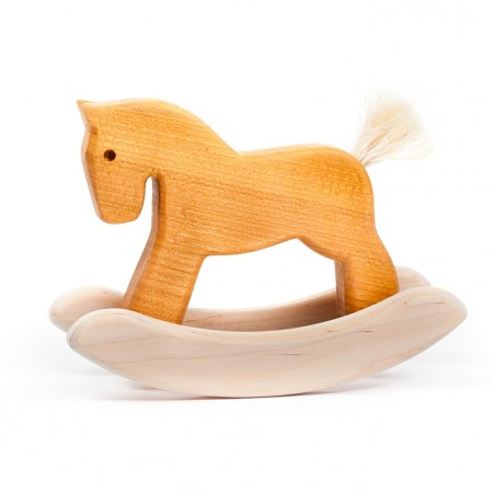 Bajo Natural Mini Rocking Horse