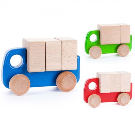 Bajo Truck With Blocks