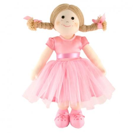 Fair Trade Rag Doll - Ballerina