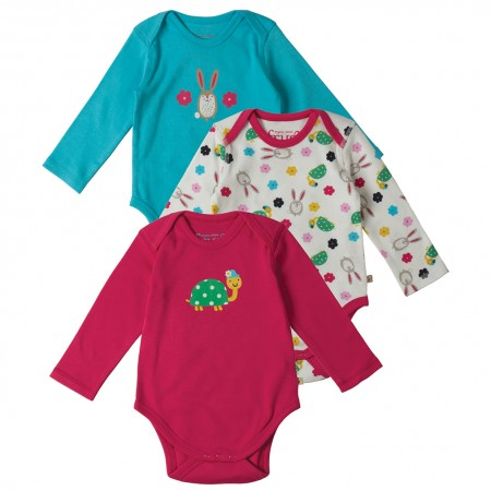 Frugi Hare & Tortoise Super Special Body x 3