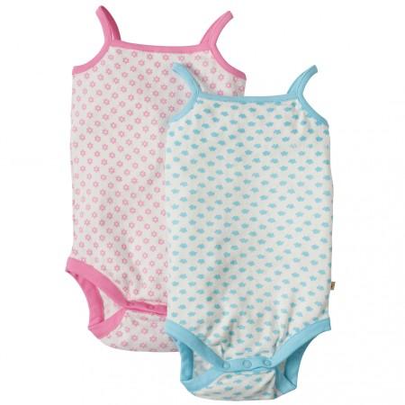 Frugi Clouds & Daisies Body Vests