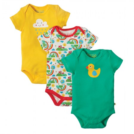 Frugi Happy Days Super Special Body x 3