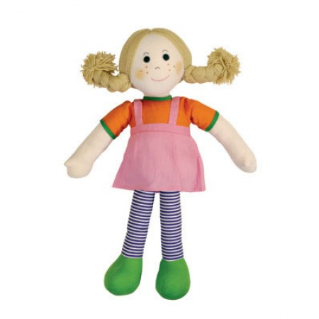 Fair Trade Rag Doll - Betsy