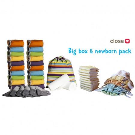 Pop-in New Gen V2 +Minkee Box with Newborn Pack
