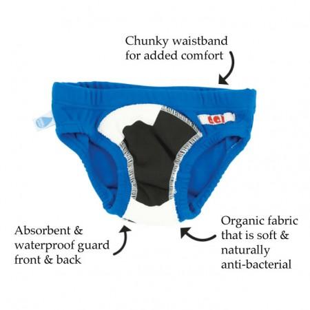 Quack Quack Moo Potty Pants Blue 2 Pack