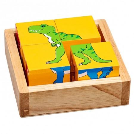 Lanka Kade Dinosaurs Block Puzzle