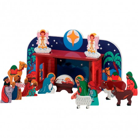 Lanka Kade Deluxe Nativity And 14 Characters