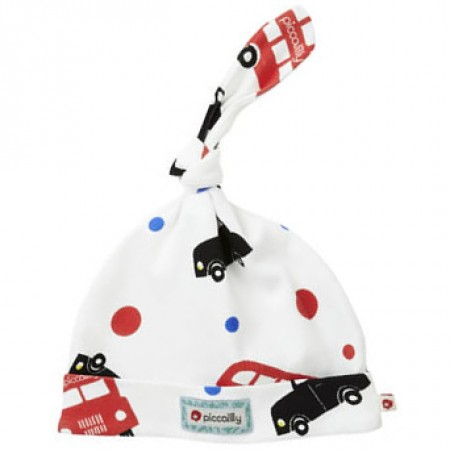 Piccalilly Bus & Taxi Knotted Hat