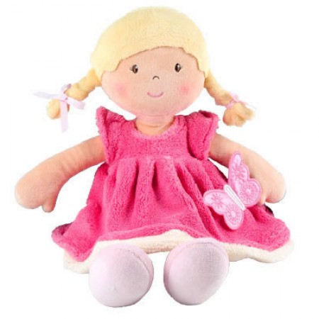 Bonikka Rag Doll - Butterfly Pink
