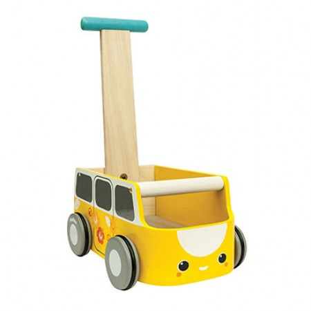 Plan Toys Van Walker - Yellow