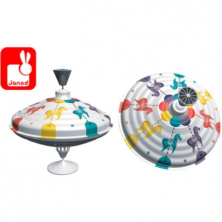 Janod Carousel Spinning Top