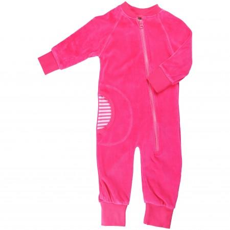 Maxomorra Cerise Pink Baby Onesie