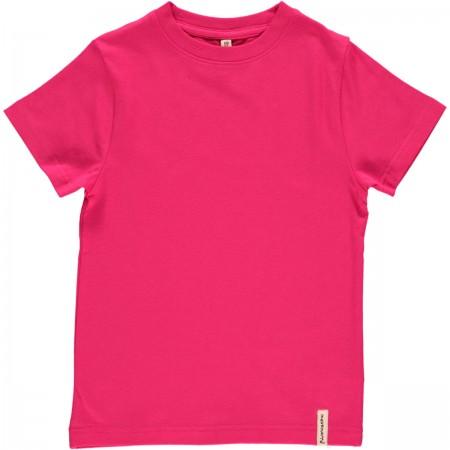 Maxomorra Cerise Pink SS Top