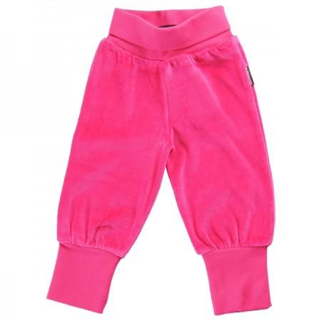 Maxomorra Cerise Pink Velour Pull Ups