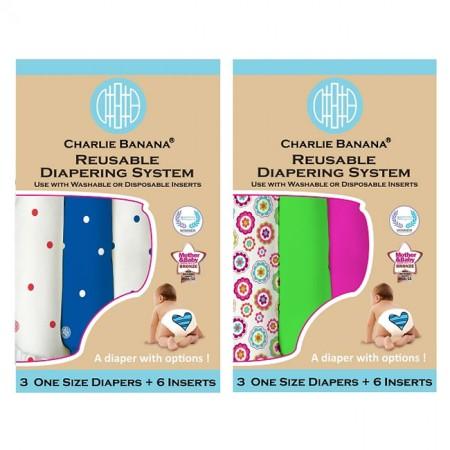Charlie Banana Grab Boxes 3 Pack
