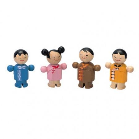 City - Plan Toys Asian City Family