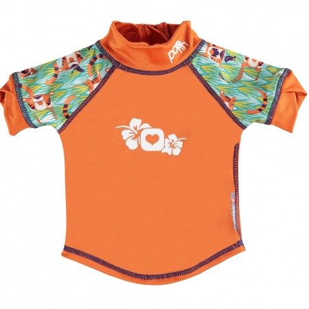 Pop-In Rash Vest Tiger
