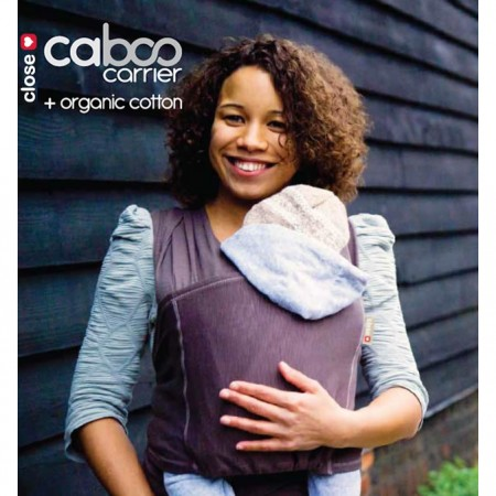 Close Caboo Carrier + Organic Cotton