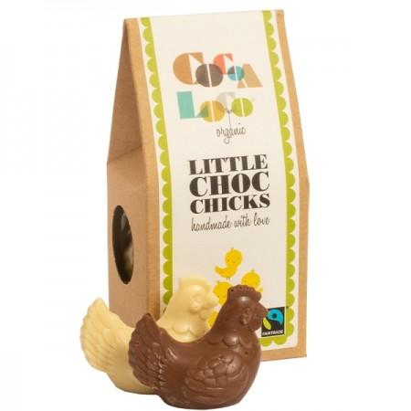 Cocoa Loco Little Chocolate Chickens 100g