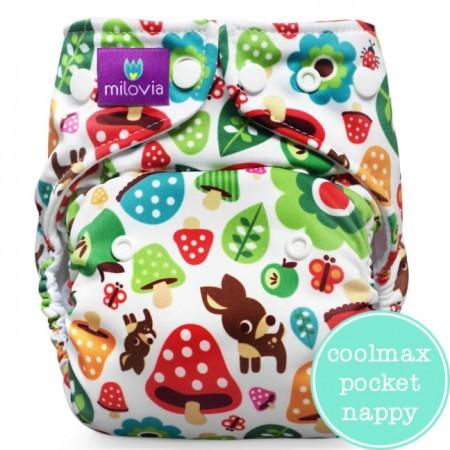 Milovia Coolmax Pocket Nappies