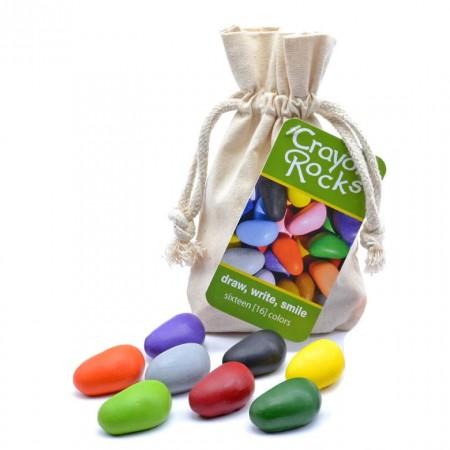 Crayon Rocks Bag of 8