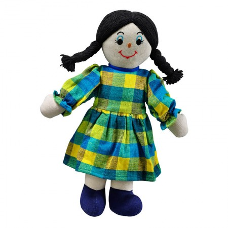 Lanka Kade Mum Doll - White Skin, Dark Hair