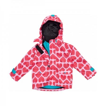 Maxomorra Hearts Jacket