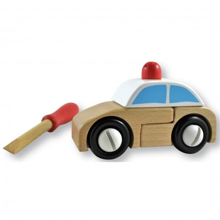 DiscoveroO Build A Police Car