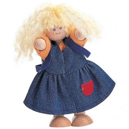Plan Toys Girl Doll