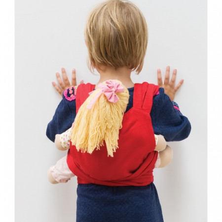 Peppa BB-Tai Red Doll Carrier
