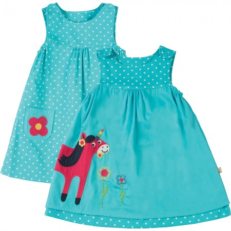 Frugi Unicorn Claire Reversible Dress