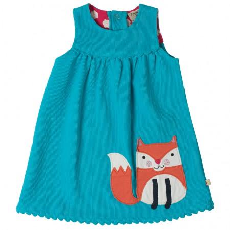 Frugi Sea/Fox Lily Cord Dress