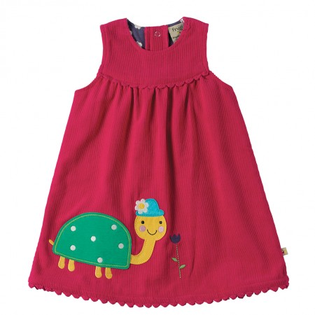 Frugi Tortoise Lily Cord Dress