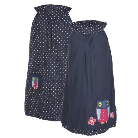 Frugi Owl Hannah Reversible Dress