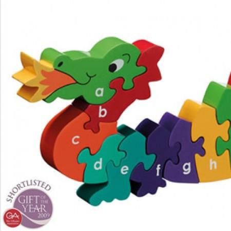 Lanka Kade Dragon Alphabet Jigsaw A-Z English
