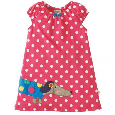 Frugi Little Lola Dog Dress