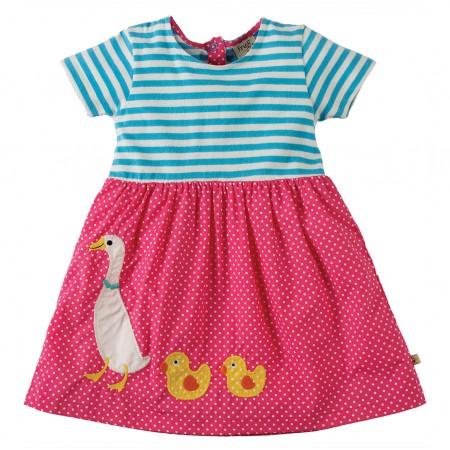 Frugi Duck Little Zenor Dress