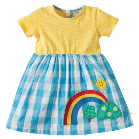 Frugi Rainbow Little Zenor Dress