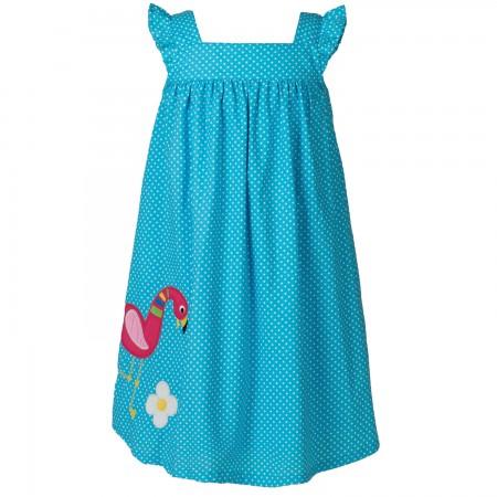 Frugi Isabella Flamingo Dress